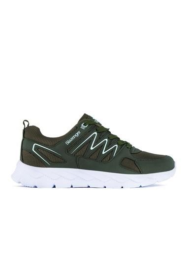 Slazenger Slazenger KRONOS Koşu & Yürüyüş Kadın Ayakkabı Haki Haki